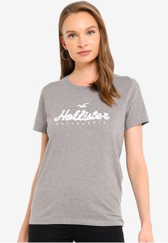 Hollister grey Casual Tee 0A4E5AA3189BE4GS_1