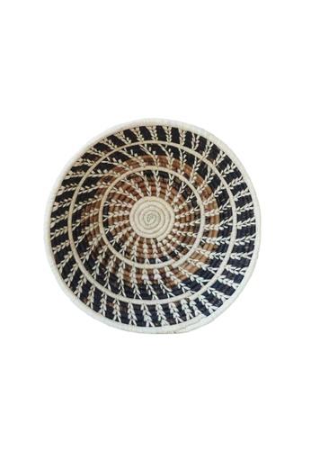 Propstation Woven Banana Bark Round Wall Art Basket Decor 20cm - BBS01 4C6BFHLE4F673CGS_1