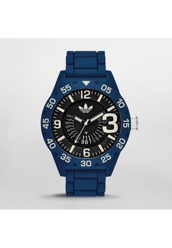 adidas Newbzalora 男鞋 評價urgh個性大數字腕錶 ADH3141, 錶類, 運動型