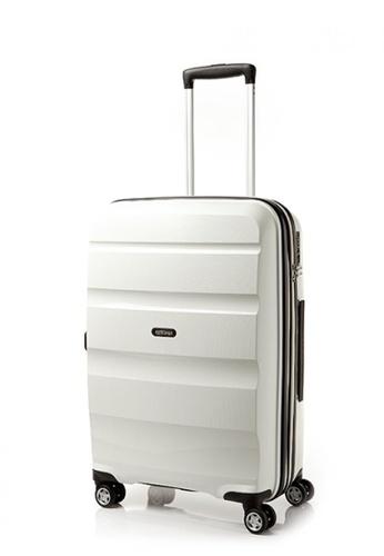 American Tourister white American Tourister Bon Air Deluxe Spinner 66cm Exp AM536AC0FAHZSG_1