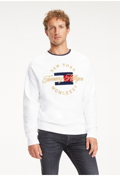 d4644c41 Tommy Hilfiger white ICON ARTWORK SWEATSHIRT 03861AACB47507GS_1