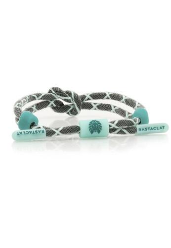 Rastaclat green Rastaclat Knotted Bracelet: Ghost Green 17F66ACEF0258AGS_1