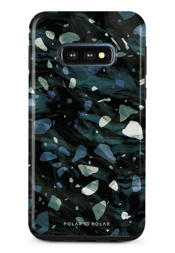 Polar Polar grey Nordic Terrazzo Gem Dual-Layer Tough Case Glossy For Samsung Galaxy S10E 57445ACBBDCB33GS_1