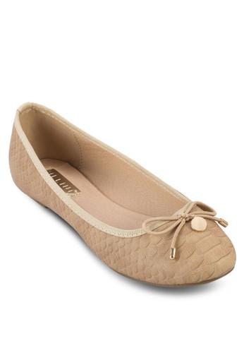 Elkie 蝴蝶結娃娃鞋, esprit 折扣女鞋, 鞋