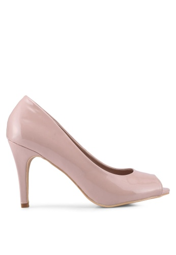Dorothy Perkins pink Nude Clover Court Shoes EF977SH32C90ADGS_1