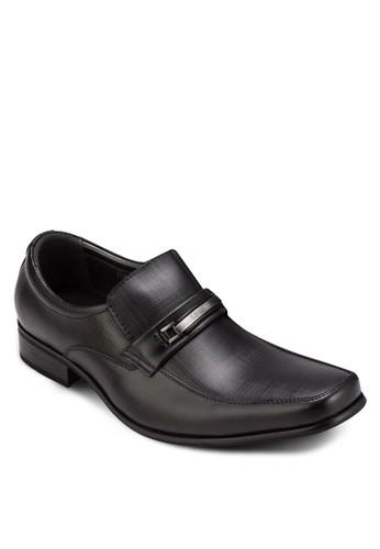 金飾方頭商務皮鞋, 鞋, 皮esprit tw鞋