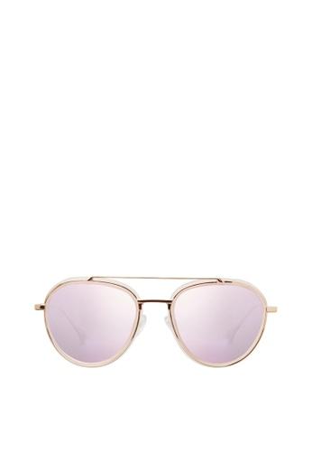Carin pink Ratio C3 Sunglasses 95F63GLBA32C9CGS_1