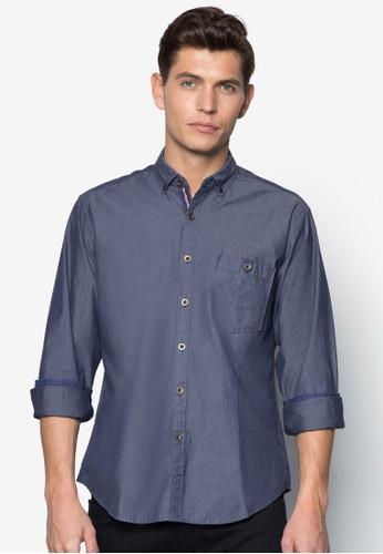 esprit 中文基本款長袖襯衫, 服飾, 服飾