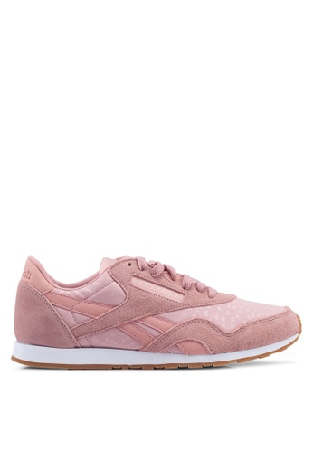 a14dbc1d2d65d Buy Reebok Classic Nylon Slim Text Lux Shoes Online on ZALORA Singapore