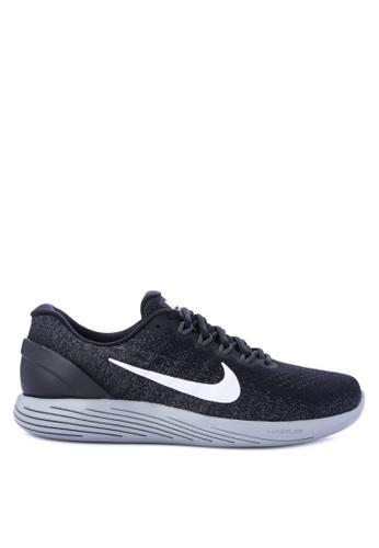 Nike black Men's Nike LunarGlide 9 Running Shoes NI126SH0STSJMY_1