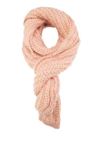 馬海毛針織圍巾, 飾品配件, zalora 心得 ptt披肩