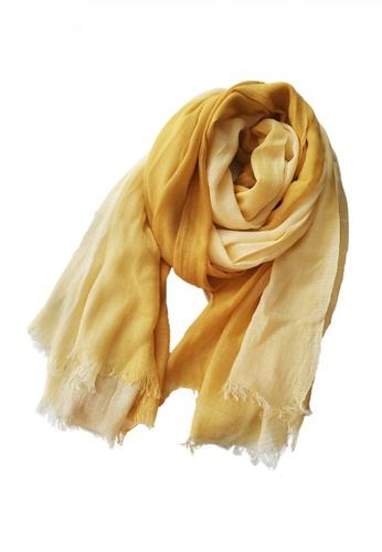 HAPPY FRIDAYS Cotton Yarn Mix Color Tie Dye Scarf JW JS-1100 F645EAC503B6E9GS_1