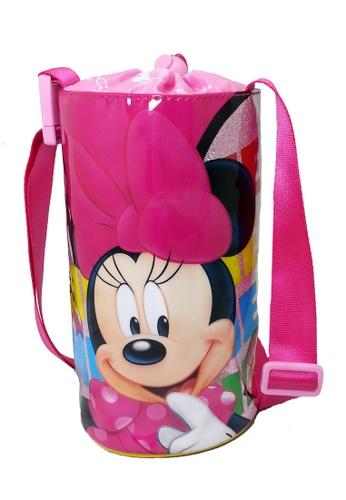 Disney Minnie pink Disney Minnie Mouse Style Water Bottle Holder Bag 90E65KCAA216A4GS_1