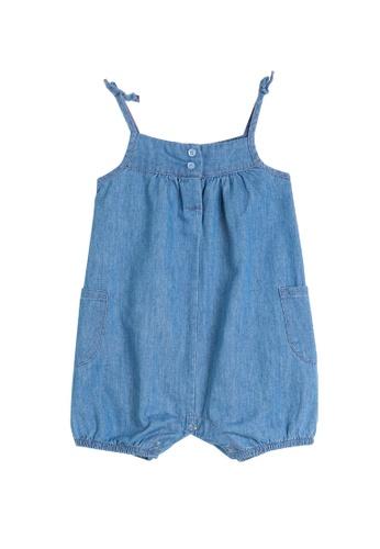 KOTON blue Denim Textile Overalls C4339KA29021EFGS_1