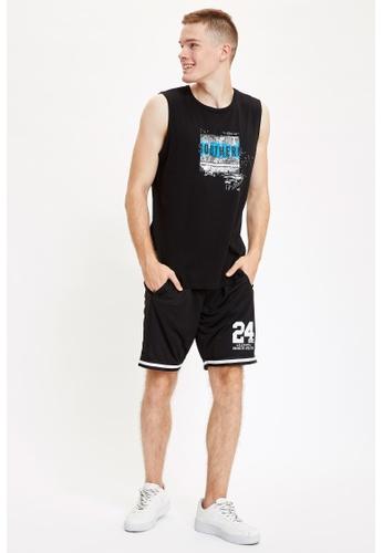 DeFacto black Man Sports Wear Knitted Bottoms E3030AAF4C587CGS_1