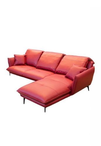 Choice Furniture red Choice Furniture - Holland Sofa 74364HL1B71420GS_1