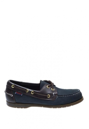 Sebago navy Endeavor Casual Shoes SE328SH0J4YBPH_1