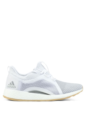 adidas white and silver adidas pureboost x clima AD372SH0SUPHMY_1