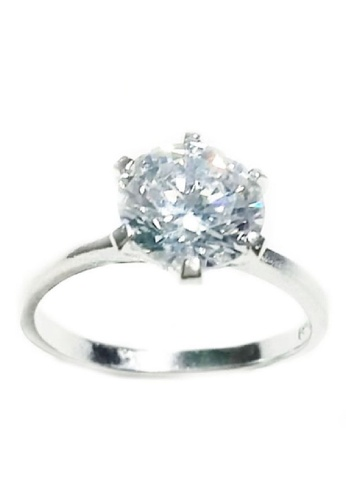 Silver Unlimited silver Ladies Ring SI923AC20EYDPH_1