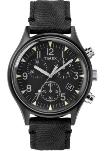 Timex black Timex MK1 SST Chrono Black Strap Black Dial – TW2R68700 8FEC2AC2C915D1GS_1
