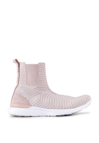ATHLETIC PROPULSION LABS pink Women's Techloom Chelsea Sneakers F8581SHBBA32D4GS_1