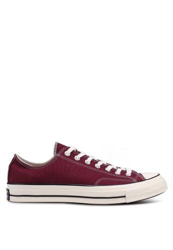 Converse red Chuck Taylor All Star 70 Core Ox Sneakers 8BB3FSH7D25D4BGS 1 6b0cc809d