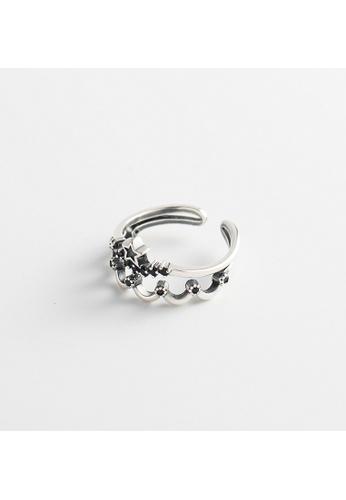 OrBeing white Premium S925 Sliver Geometric Ring 9EFB3AC05764DBGS_1
