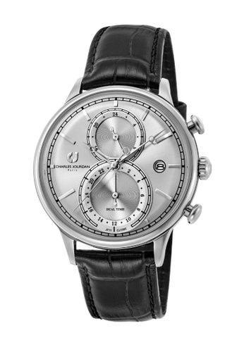 Charles Jourdan silver Charles Jourdan Ladies Watch Multi-Function Quartz CJ1060-2312M CD19BAC772D622GS_1