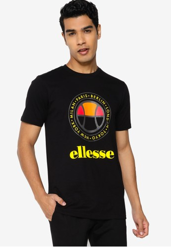 ellesse black Campa T-Shirt B877CAA8AF7E59GS_1