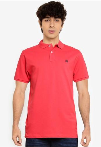 Springfield orange Essential Slim Polo Shirt 4619BAAD7ABA79GS_1