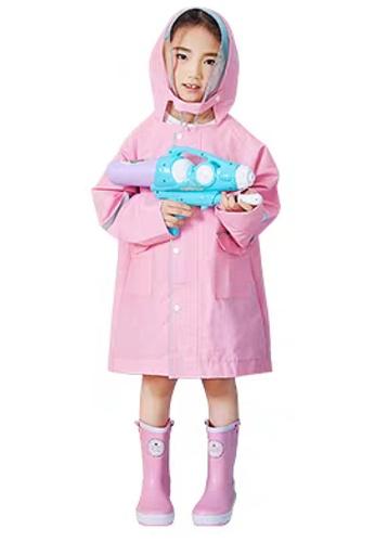 Twenty Eight Shoes pink VANSA  Stylish Soild colour Raincoat VCK-R17673 B2691KABF0B35CGS_1
