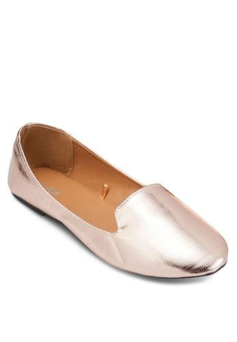 Sadie 亮面懶esprit 澳門人平底鞋, 女鞋, 鞋