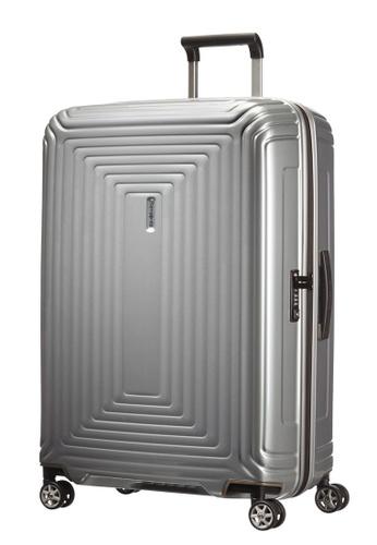 Samsonite silver Samsonite Aspero Spinner 75/28 Luggage 993C7ACD3FB8ADGS_1