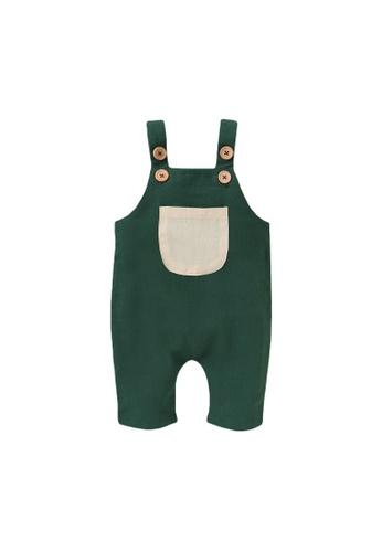 RAISING LITTLE green Tinky Romper - Green D87E9KA111FBC2GS_1
