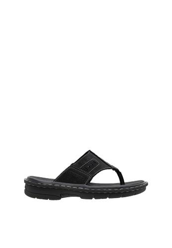 SEMBONIA black SEMBONIA Men Nubuck Leather Sandal (Black) DEB29SH08A029FGS_1