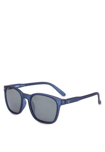 3df9578b4c4 Buy Izipizi Nautic Night Blue Green Sunglasses Online on ZALORA Singapore