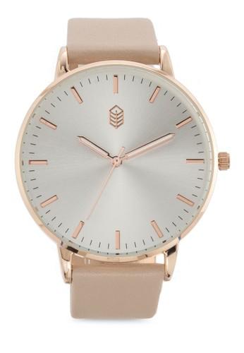 Sevoidda 經典esprit 評價仿皮圓錶, 錶類, 飾品配件