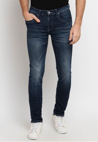 Osella blue Osella Celana Pria Jeans SKINNY Light Blue Denim 1E95DAAD4E27EFGS_1