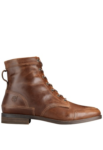 Timberland brown Somers Falls Mid Lace Boot TI324SH2UYPEHK_1