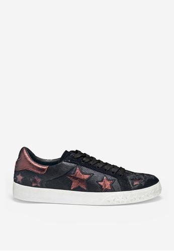ASH black ASH Dazed Star Sneakers - Black 22014SHBC8A80CGS_1