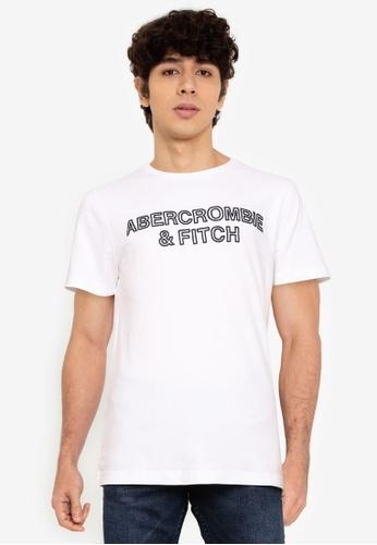 Abercrombie & Fitch white Core Tech T-Shirt DE5BAAA4BD8725GS_1