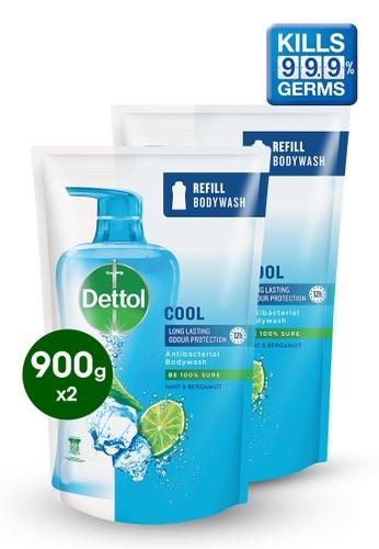 Dettol Dettol Body Wash Cool Refill 900g - Bundle of 2 8D52CESEC713C4GS_1