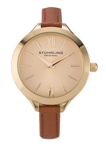 Stuhrling Original brown Vogue 975.03 Watch ST251AC22IBXMY_1