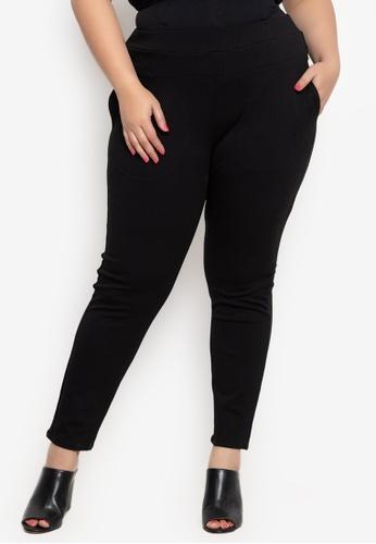 10f023639c3 Shop Maxine Plus Size Pants Skinny Stretch Online on ZALORA Philippines