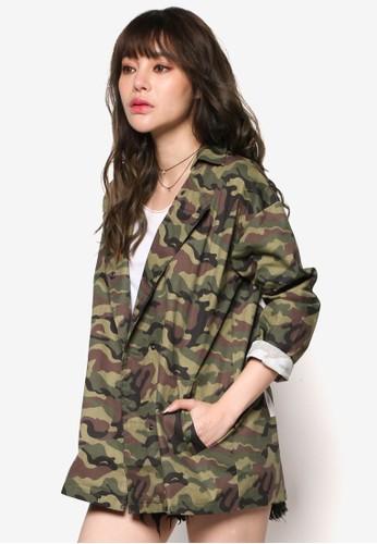 文字設計迷彩外套, 服飾esprit 中文, 外套