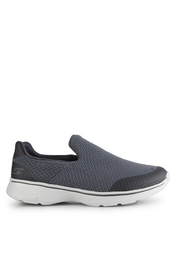 Skechers grey Ske Go Walk 4 Mens SK173SH0V10TID_1
