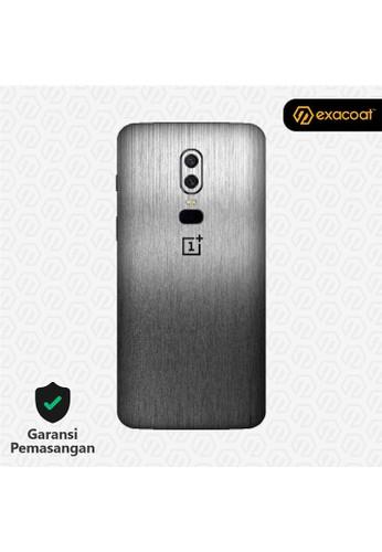 Exacoat OnePlus 6 3M Skins Titanium Onyx - Cut Only 95812ESC9E6210GS_1