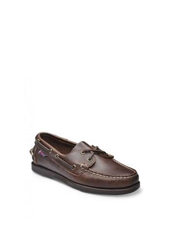 Sebago brown Docksides Loafers 13E01SH1A0C25EGS_1