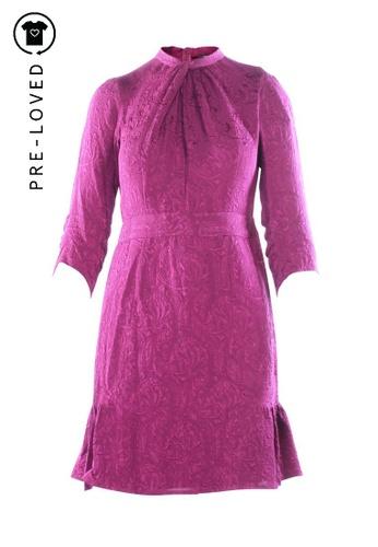 Nanette Lepore purple Pre-Loved nanette lepore Purple Empire Waist Dress 3A14BAA2C5C1D9GS_1