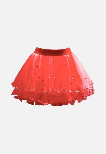 Mommy Hugs red Sugarplum Fairy Tutu Skirt 39EA8KA1B914C3GS_1
